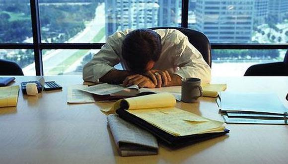 El exceso de trabajo es una de las causas. (Internet)