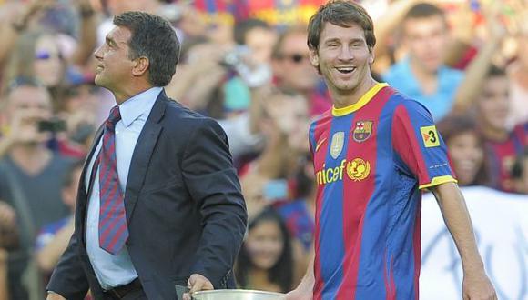 Lionel Messi acaba contrato con Barcelona a mediados del 2021. (Foto: AFP)