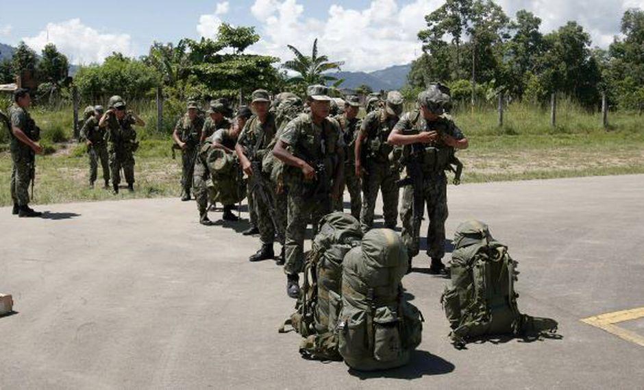 ABANDONO. La precariedad de los instrumentos utilizados por las FF.AA. y PNP es peligrosa y mortal. (Rochi León)