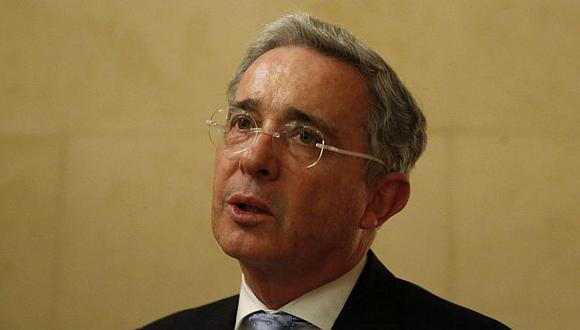 Álvaro Uribe fue presidente de Colombia entre 2002 y 2010. (EFE)