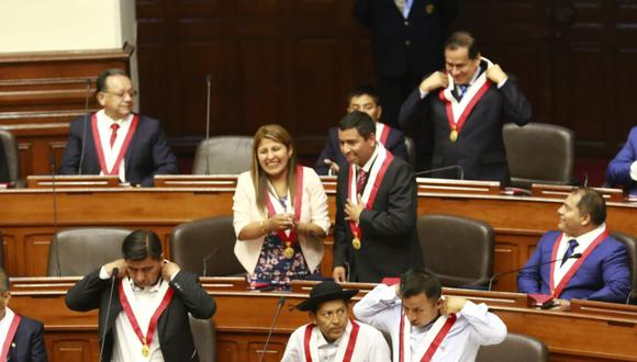 Bloque impulsado por Antauro Humala presenta propuestas radicales. (Foto: Congreso)