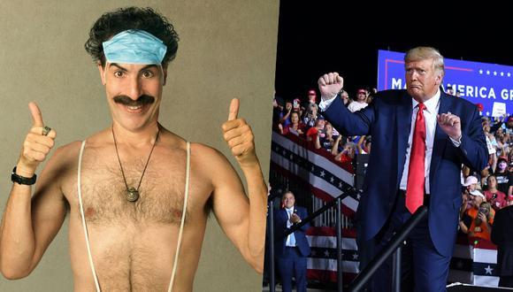"""La nueva película de Sacha Baron Cohen, estrenada el viernes en Amazon Prime, llega catorce años después de """"Borat"""" (2006), que recaudó 260 millones de dólares, le valió una nominación al Óscar y popularizó montones de frases del personaje. (Foto: AFP)"""