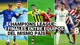 Manchester City vs. Chelsea: Repasa la lista de finales de Champions League entre equipos del mismo país