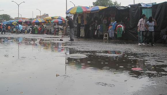 Más de 13 horas llovió en Lambayeque en diciembre pasado. (Perú21)