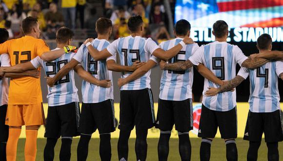 Argentina se alista para los amistosos con nuevas caras en su nómina. (Foto: AFP)