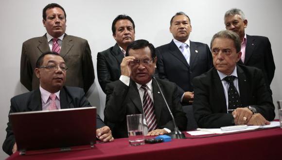 Luego de idas y venidas, Gutiérrez dio un Sí al 'debate', pero él no participará. (CÉSAR FAJARDO)