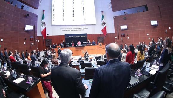 Senado mexicano aprobó ley de amnistía con 68 votos a favor, 14 en contra y 2 abstenciones (Efe).