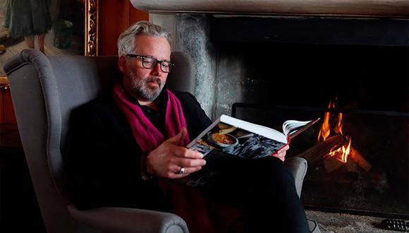 El escritor, de 47 años, falleció el 25 de diciembre, según publicaba la radiotelevisión noruega (Foto: AFP)