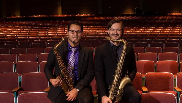Aníbal Seminario y Lorenzo Ferrero son fundadores de Afro-Peruvian Jazz Orchestra.