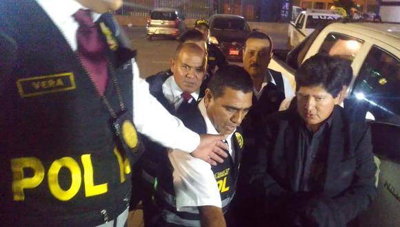Edwin Oviedo llegó a Chiclayo para cumplir 18 meses de prisión preventiva. (Nadia Quinteros / Perú21)