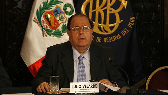 Presidente del BCR, Julio Velarde, dio cifras adelantadas. (Perú21)