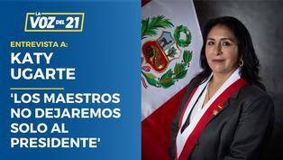 Congresista Ugarte afirma que maestros no abandonarán al presidente Castillo