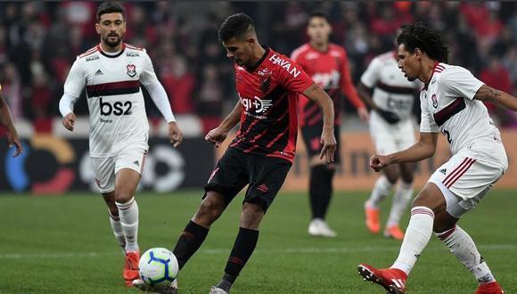 Flamengo igualó 1-1 ante Paranaense por los cuartos de final la Copa de Brasil. (Twitter)