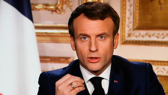 """Emmanuel Macron aseguró que en China """"pasaron cosas que desconocemos"""" en la crisis del coronavirus. (Foto: AFP)"""