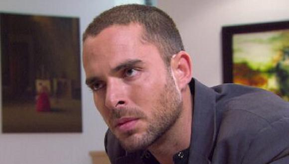 """Manolo Cardona quien interpretó a Martín González (Andrés López) en """"El Cartel de los Sapos"""" (Foto: Caracol TV)"""