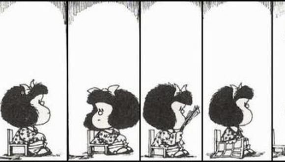 """""""La primera vez que escuché la palabra """"burocracia"""" fue cuando mi mamá nos leía las historias de Mafalda y sus amigos""""."""