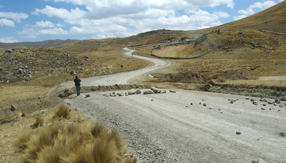 Cusco: declaran en estado de emergencia un tramo del corredor minero.