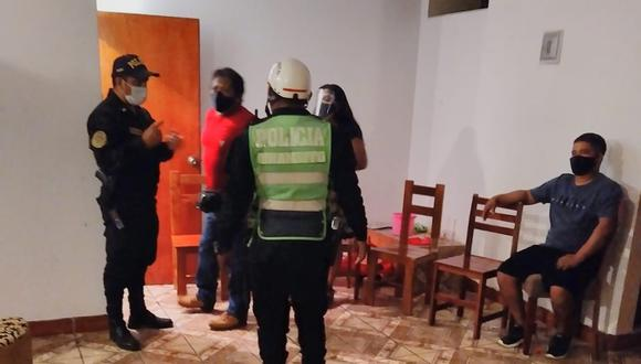 Piura: intervienen a varias personas que celebraban un cumpleaños en una vivienda de Talara (Foto: Municipalidad Provincial Talara)
