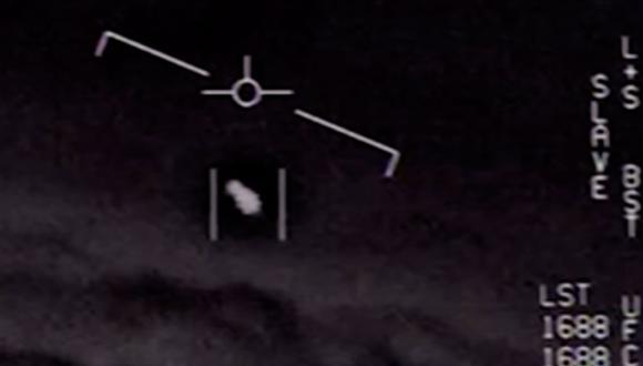 El Pentágono hizo públicas las grabaciones de tres avistamientos de objetos voladores no identificados (OVNI) por parte de sus pilotos en los años 2004 y 2005. (Foto: Captura de video/Departamento de Defensa de los Estados Unidos)