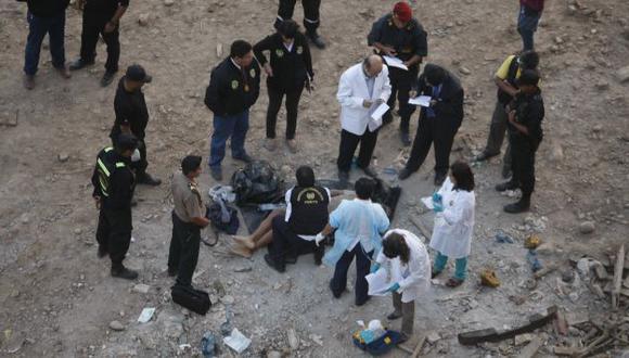 HORRENDO. Cadáver fue hallado en un acantilado de San Miguel. (Mario Zapata)