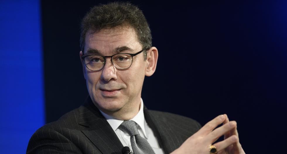 El CEO de Pfizer, Albert Bourla. EFE/ Gian Ehrenzeller/Archivo