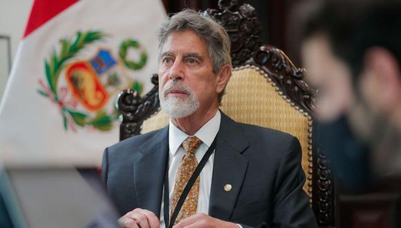 El presidente Francisco Sagasti lamentó la muerte de Luis Bedoya Reyes, líder fundador del PPC. (Foto: Presidencia)