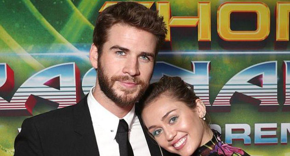 """""""Miley está absolutamente en las nubes desde que ella y Liam se casaron"""", dijo una fuente cercana a la revista OK! (Getty Images)"""