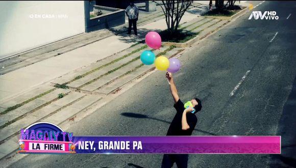 Ney Guerrero sorprendió a su hija con tierna sorpresa. (Foto: Captura Magaly TV: La Firme)