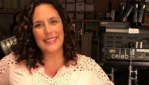 """La actriz mexicana reveló que es fan de la serie """"Friends"""" (Foto: Angélica Vale / Instagram)"""