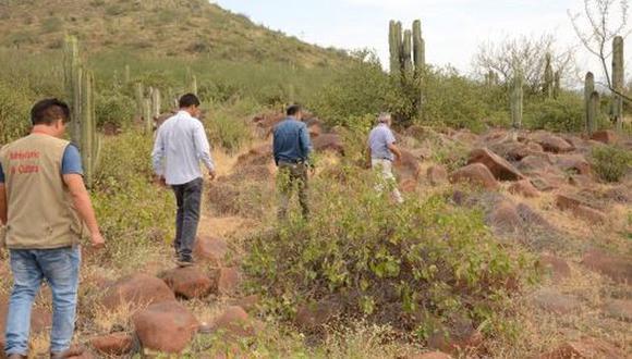 El sitio arqueológico Cerro Mulato está ubicado en el distrito de Chongoyape. (Foto: Andina)