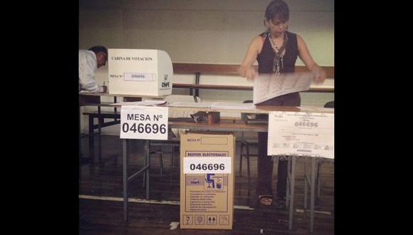Ciudadanos reportaron hechos como la ausencia de sus compañeros de mesa. Foto: juanmanuelhopkins (Instagram)