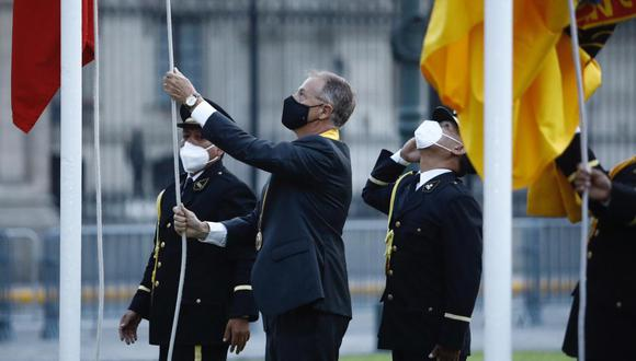 El alcalde de Lima participó de las actividades por el aniversario de la capital. (Foto: Joel Alonzo/ @photo.gec)
