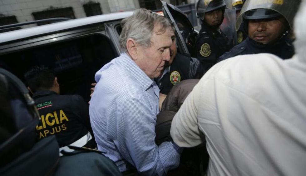 Esta madrugada el juez Richard Concepción Carhuancho dictó 18 meses de prisión preventiva para los empresarios.  (Alonso Chero / El Comercio)