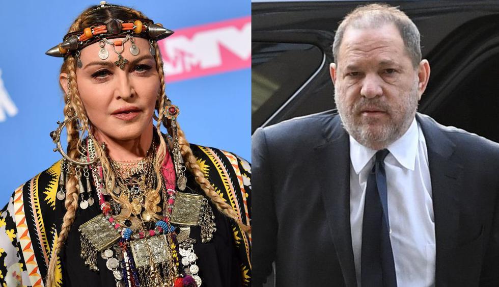 """Madonna asegura que Harvey Weinstein fue """"increíblemente insinuante sexualmente y directo"""" con ella. (Foto: AFP)"""