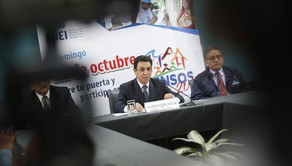 INEI (Mario Zapata/Perú21)