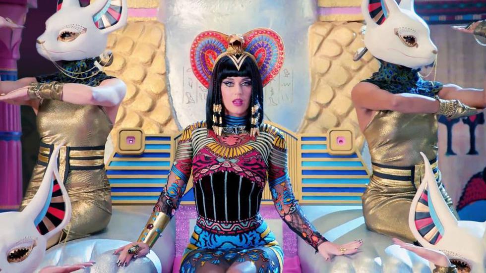 Dark Horse es una de las canciones más populares de Katy Perry, (YouTube)