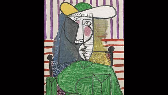 """""""Busto de una mujer"""" de Pablo Picasso. Cuadro fue dañado en Londres. (Foto: Tate Modern)"""