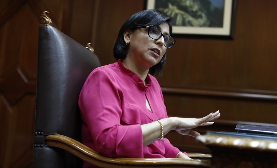 """""""No hay ni habrá recorte de los derechos de los trabajadores"""", indicó la ministra Sylvia Cáceres.(Foto: GEC)"""