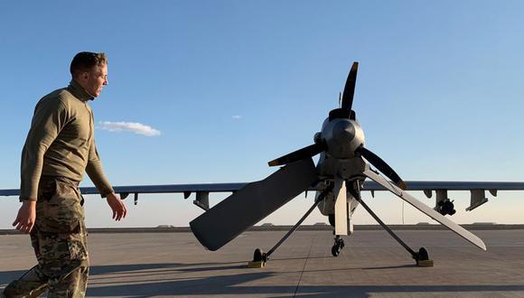 Un solo dron Grey Eagle cuesta siete millones de dólares, de acuerdo con datos oficiales de Estados Unidos. (Foto: AFP)