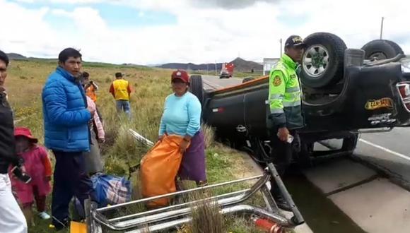Racha de accidentes dejó tres fallecidos y dos heridos en Azángaro (GEC)
