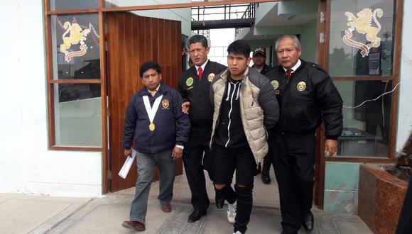 Arammis Edgar Luque Humpiri se encuentra recluido en el penal de Pocollay. (Ministerio Público)