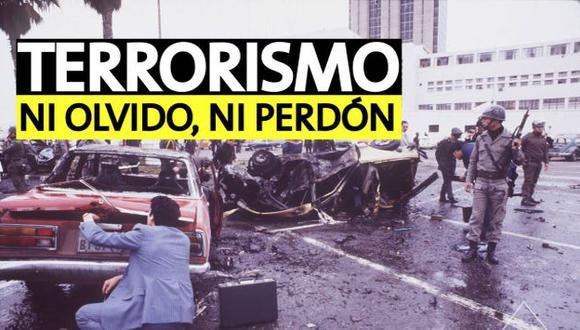 Terrorismo en el Perú: Ni olvido, ni perdón. (Perú21)