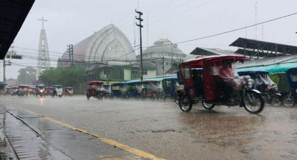 Las intensas lluvias siguen afectando diversas regiones en nuestro país. (Foto: Senamhi)
