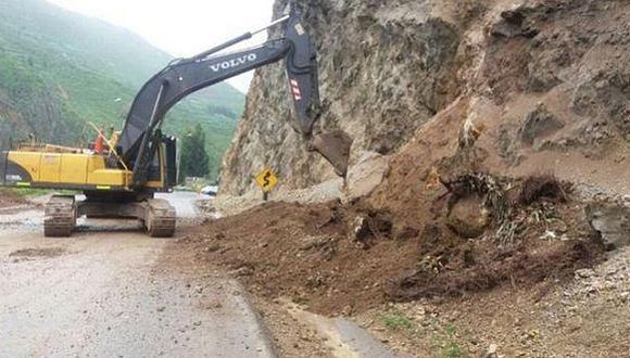 Huaicos y lluvias han afectado carreteras, puentes, canalaes de riego y hectáreas de cultivo (Difusión)