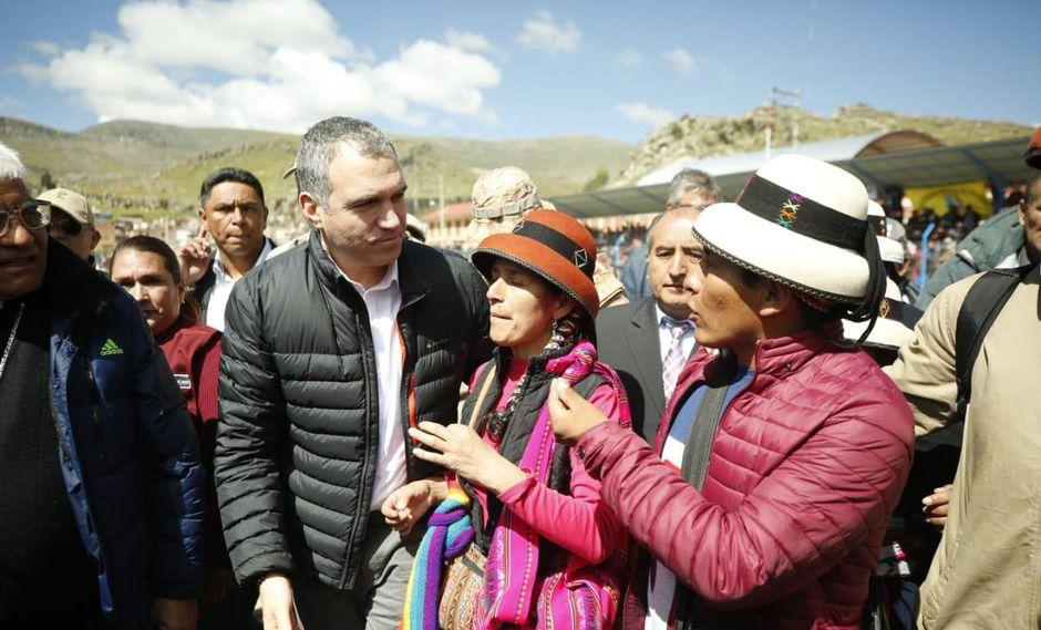 En la reunión que se realizará en Challhuahuacho el próximo 16 de abril, se planificará la organización de nueve mesas técnicas (Foto: PCM)