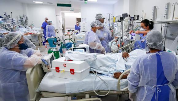 En lo que van del año ya han fallecido 1,214 personas a causa del COVID-19. Solo queda una cama UCI disponible que en cualquier momento se puede ocupar (Foto: Archivo GEC, EFE/ Marcelo Oliveira)