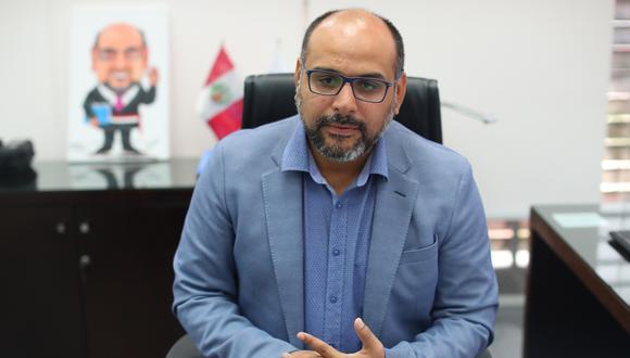 Daniel Alfaro, ministro de Educación. (Foto: GEC)