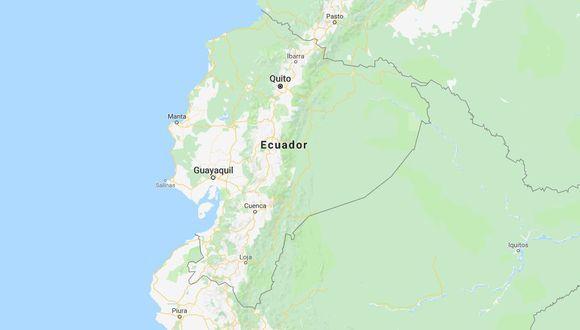 Sismo en Ecuador.