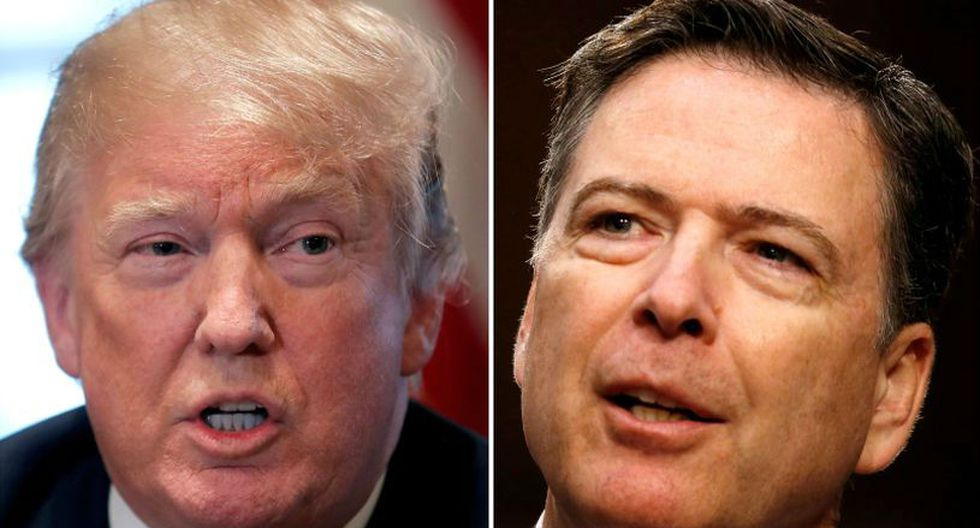 Recordemos que descontento con la dirección de estas investigaciones, Trump despidió a Comey en mayo de 2017. (Foto: Reuters).