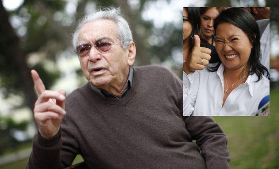 Julio Cotler tuvo fuertes críticas contra Keiko Fujimori. (Perú21)